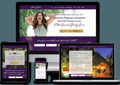 Audra Baker Website Rehaul
