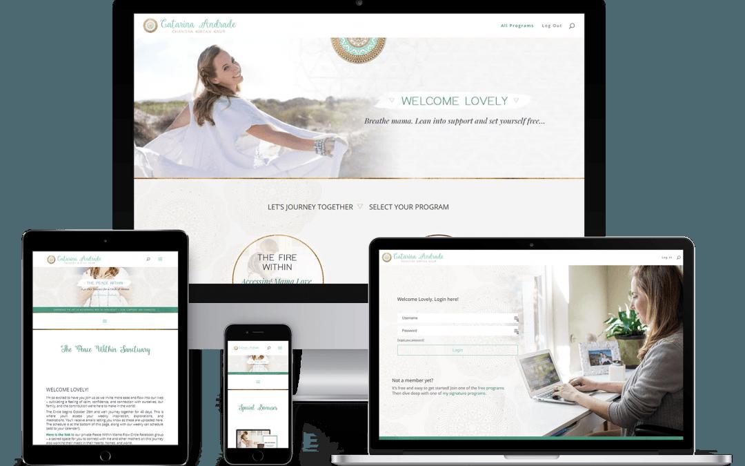 Catarina Andrade Membership Site