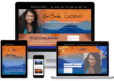 Epic Dream Academy Website