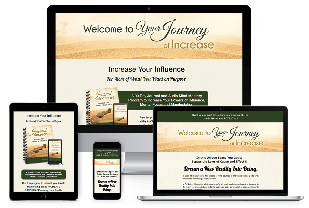 Journey of Increase Sales Page