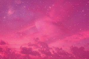 Pink Night Sky